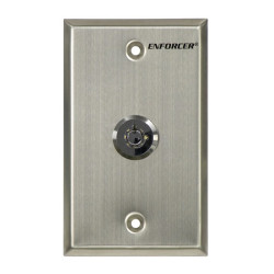SECO-LARM SD-72051-V0 Request-to-Exit Key Switch Plate