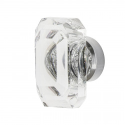 "Nostalgic Warehouse Baguette Cut Clear Crystal 1 9/16"" Cabinet Knob"