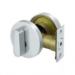 Deltana Zinc Modern Low Profile Deadbolt Lock Grade 3