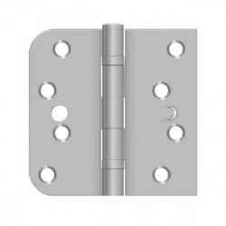 "Deltana 4"" X 4"" X 5/8"" X SQ Hinge, Handed, Ball Bearing, Security"