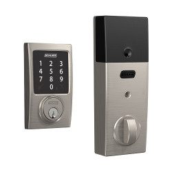 Schlage BE468GBAK CEN Century Sense Smart Touchscreen Deadbolt
