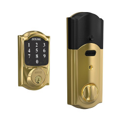 Schlage BE468ZP CAM Camelot Sense Smart Deadbolt