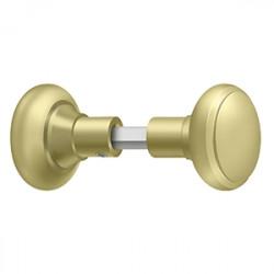 Deltana Accessory Knob Set For SDML334, Solid Brass
