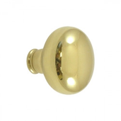Deltana Accessory Knob For SDL980 Or SDL480, Solid Brass
