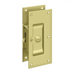 """Deltana Decorative Pocket Lock 6"""" , Privacy"""