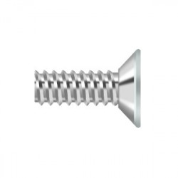 "Deltana Machine Screw, Steel, 9 X 1/2"""