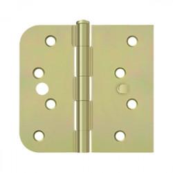 "Deltana Special Hinge For Fiber Glass Doors, 4"" X 4 1/4"" X 5/8"" Radius X SQ, Security Stud"
