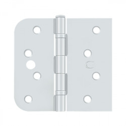 "Deltana Special Hinge for Fiber Glass Doors, 4"" X 4 1/4"" X 5/8"" Radius X SQ, Ball Bearings, Security Stud"