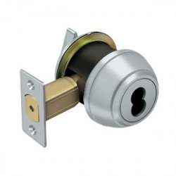 Deltana Single Deadbolt IC Core Non CYL GR1