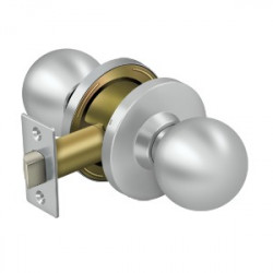 Deltana Commercial Lock, Passage Standard GR2, Round