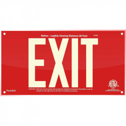 American Permalight UL924 ETL-listed Acrylic EXIT Sign