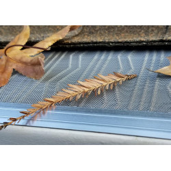 "LeafBlaster Pro 5"" Gutter Guard from Gutterglove (Stainless Steel Mesh)"