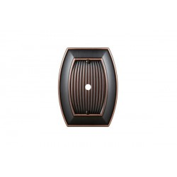 Amerock BP36540 Allison 1 Cable Wall Plate, Oil-Rubbed Bronze Allison