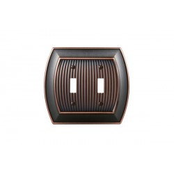 Amerock BP36529 Allison 2 Toggle Wall Plate, Oil-Rubbed Bronze Allison