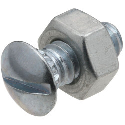 National Hardware V7653 Ribbed Neck Bolt & Nut