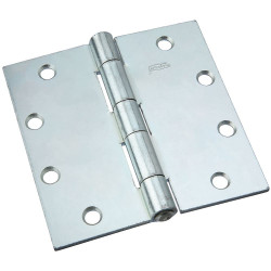 National Hardware 505 Non-Removable Pin Hinge, Zinc plated