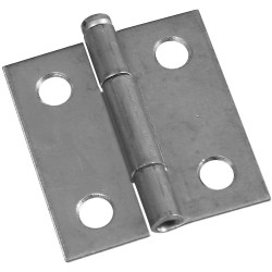 National Hardware 508 Removable Pin Hinge, Zinc plated
