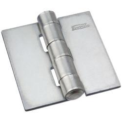 National Hardware 560 Door Hinge, Plain Steel