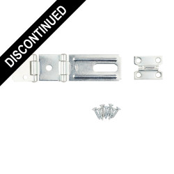 National Hardware SPB34 Double Hinge Safety Hasp, Zinc plated