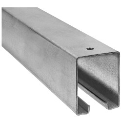 National Hardware 5116BC Plain Box Rail, Galvanized