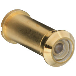 National Hardware B802 Door Viewer - Solid Brass