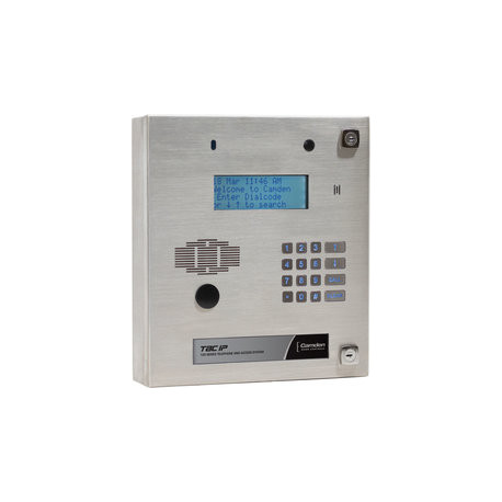 Camden CV-TACIP-GAM Telephone Entry System, Goose Neck Mounting Enclosure For Surface Panel w/ Weather Hood