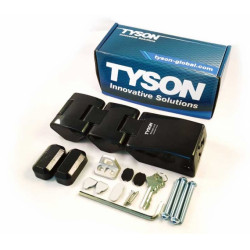 TYSON USA High Security HLDH-SC Double-Hinge Model HaspLock