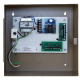 Deltrex 906-3 Drs Fail-Safe Communicating Bathroom System, Access Control with Power Supply