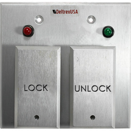 Deltrex T109 Series Push Plate Switch Control