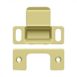 """Deltana SP2751 Strike Plate, Dust Cup, Adjustable, 2-3/4"""" x 1-1/4"""""""