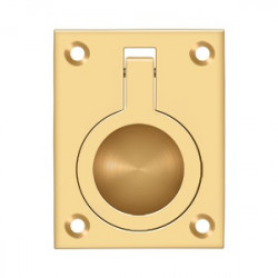 "Deltana FRP25 Flush Ring Pull, 2-1/2"" x 1-7/8"""