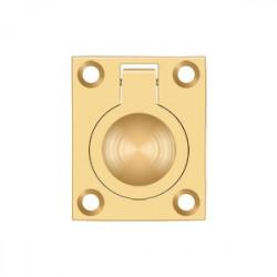 "Deltana FRP175 Flush Ring Pull, 1-3/4""x 1-3/8"""
