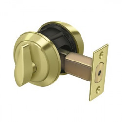 "Deltana CL200LM Single Deadbolt GR1 w/ 2-3/4"" Backset"