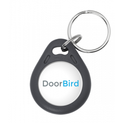 DoorBird 125 KHz Transponder Key Fob, 64bit, Write-Protected, Material ABS, for D21 x and later, 10 pieces