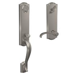 Shlage FCT series Camelot Handleset Single Cylinder