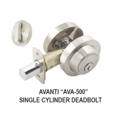 Cal-Royal AVA-500 Vanguard Series Single Cylinder Deadbolt - KA / 3