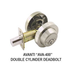 Cal-Royal AVA-400 Vanguard Series Double Cylinder Deadbolt - KA / 3