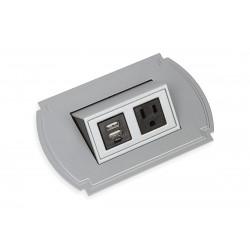 Mockett PCS43T/USB-23 Traditional Flip-Up Power Grommets