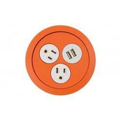 Mockett PCS73/USB Flip (2 Power/USB) Power Grommets