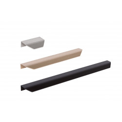 Mockett DP254A Chamfered Edge Drawer Pulls