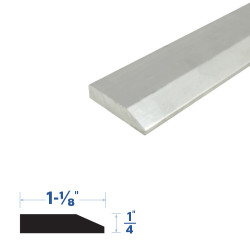Legacy Manufacturing 396MA Beveled Threshold Component