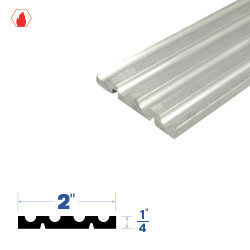 """Legacy Manufacturing 3276 Adjustable Threshold (2"""" by 1/4"""")"""