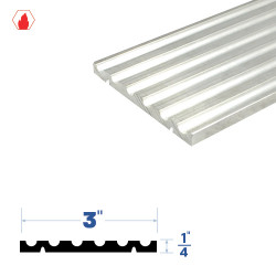 """Legacy Manufacturing 3376 Adjutable Threshold (3"""" by 1/4"""")"""