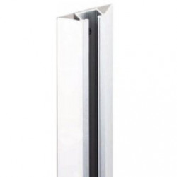 Mockett SHTRM6-94 6 ft. M-Style Tracks - Satin Aluminum