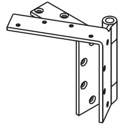 """Mckinney TA5794 Steel Bearing For Beveled Edge Door 4"""" Door Leg Hinge, 5 x 4.5"""
