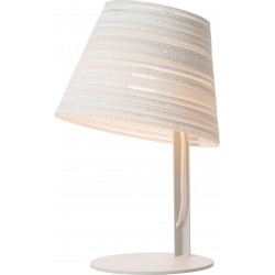 Graypants GP-1132 Tilt Table Lamp White Scraplights