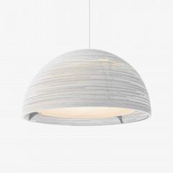 Graypants GP-1251 Dome Pendant White Scraplights