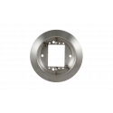 "BEA 10ESCUTCHEON 6"" Round Surface Mount Box, Stainless Steel"