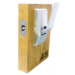 ABH Hardware 6830 Series Time out/Reverse Low Profile Hospital Push Pull Latch With Mortise Lock