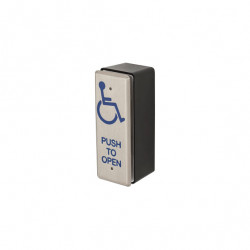 Locknetics PPH-50 Rectangular Narrow Push Plate w/back Box